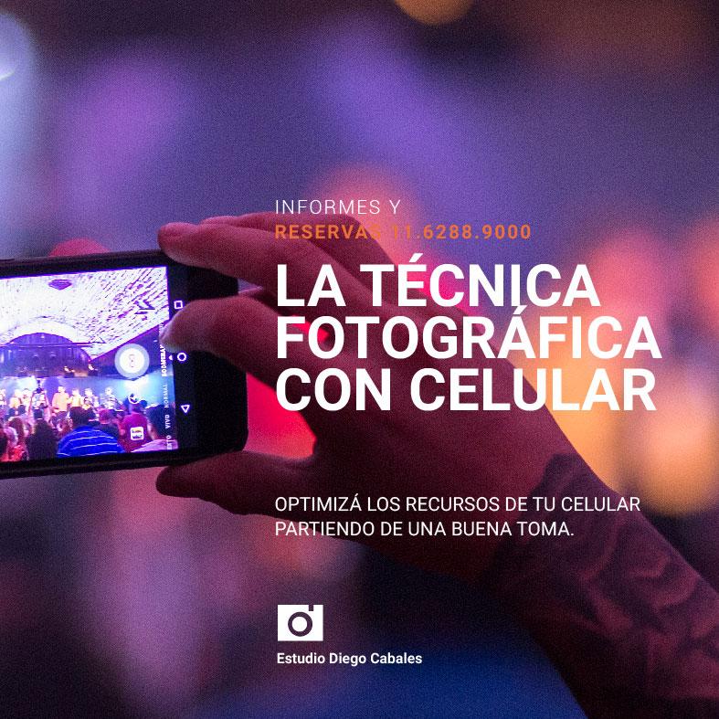 La tecnica fotografica con celular