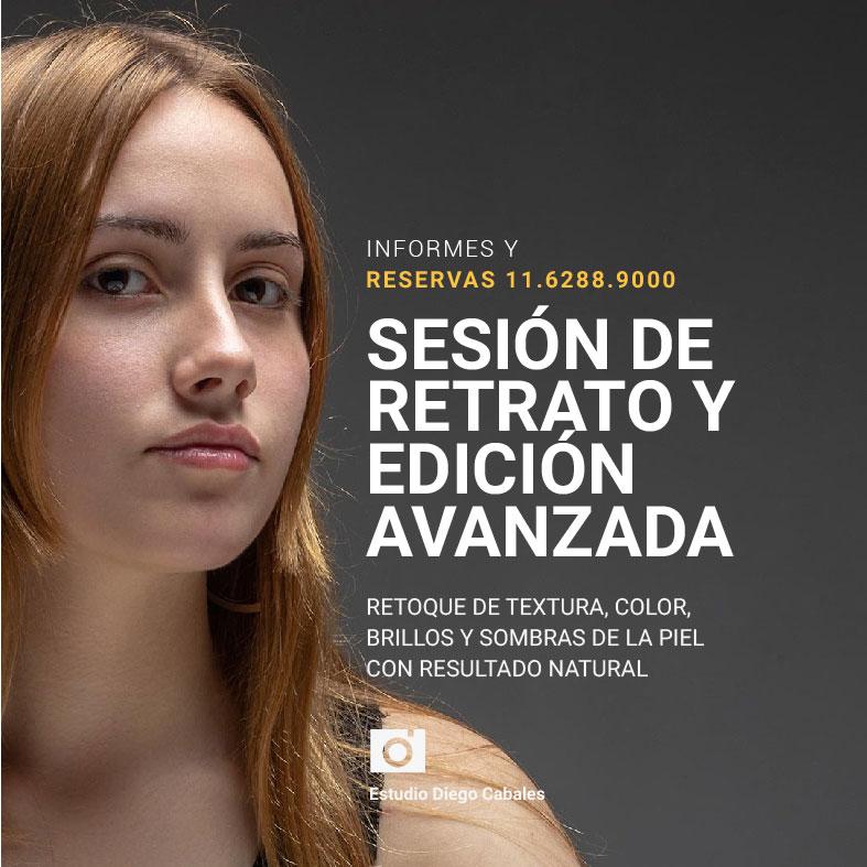 Sesión de Retrato y edición avanzada