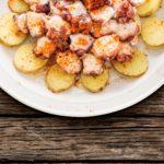 Fotografo de gastronomia Pulpo a la Gallega