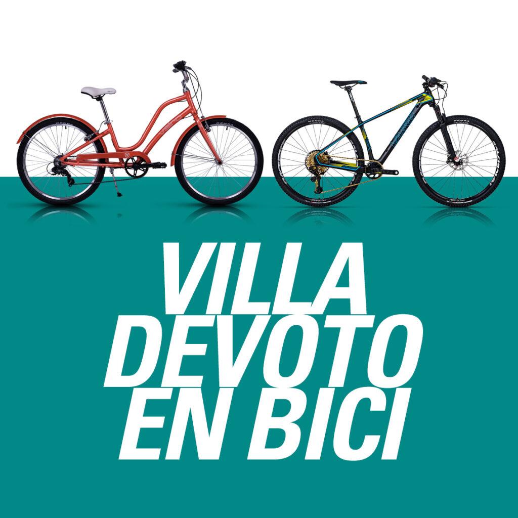 Villa Devoto en bici